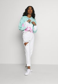 Kappa - CLAYDEE - Hoodie - greenaqua/white/pink - 1