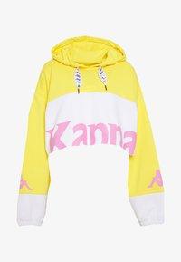 yellow/pink/white