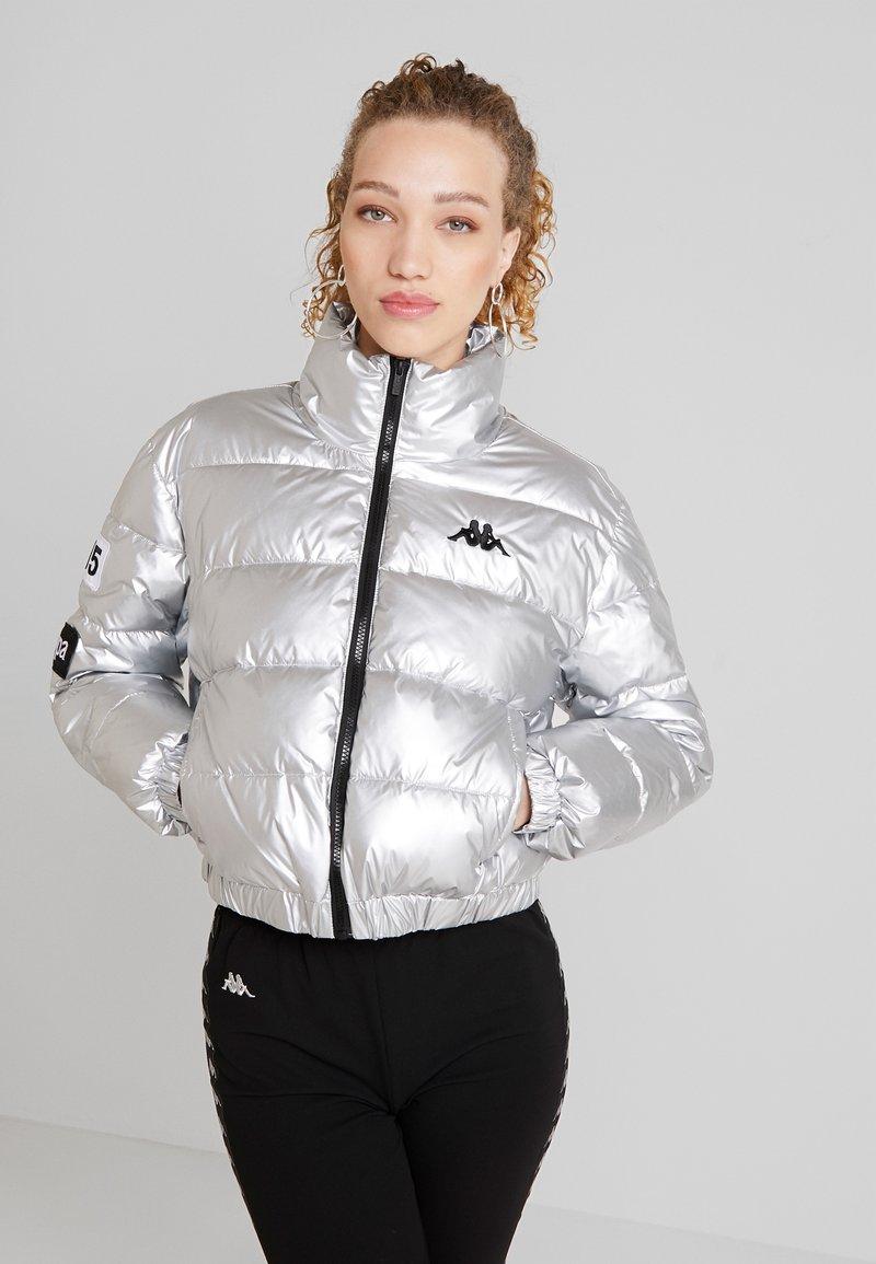 Kappa - AUTHENTIC BOLTAN - Winter jacket - silver/black/white
