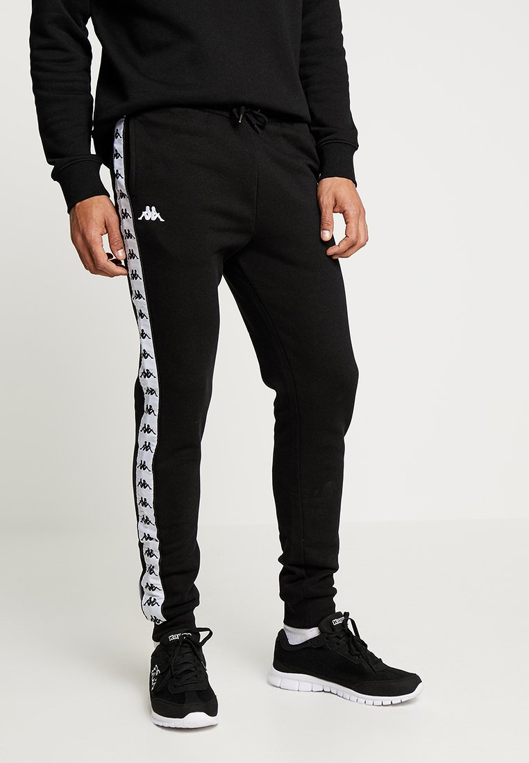 Kappa - EDIK - Tracksuit bottoms - black
