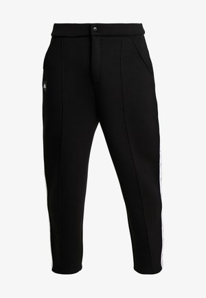 AUTHENTIC BISO - Pantalones - black/white