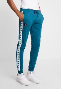 Kappa - FILL - Tracksuit bottoms - blue coral - 0