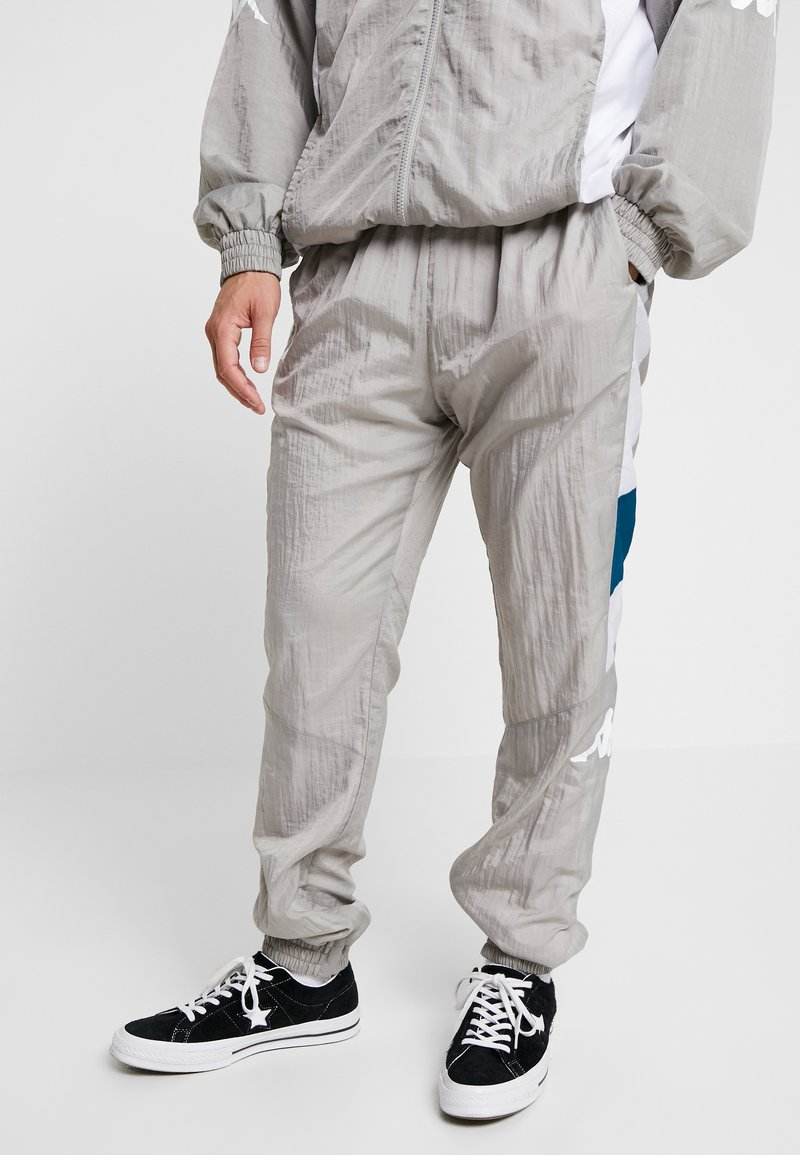 Kappa - FILMON - Pantalon de survêtement - flint gray