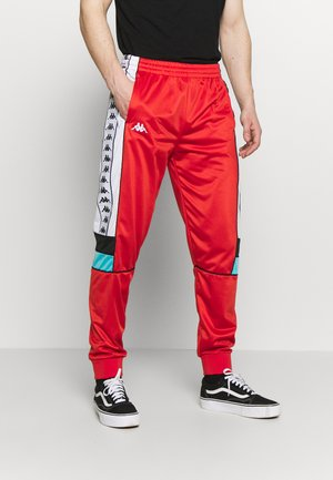 BANDA MEMZZ - Trainingsbroek - red/white/black/turqouise