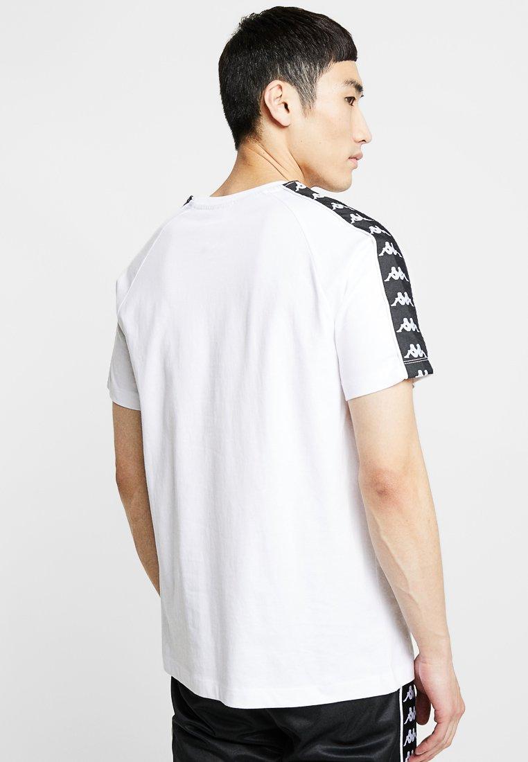ERNESTO T shirt med print white