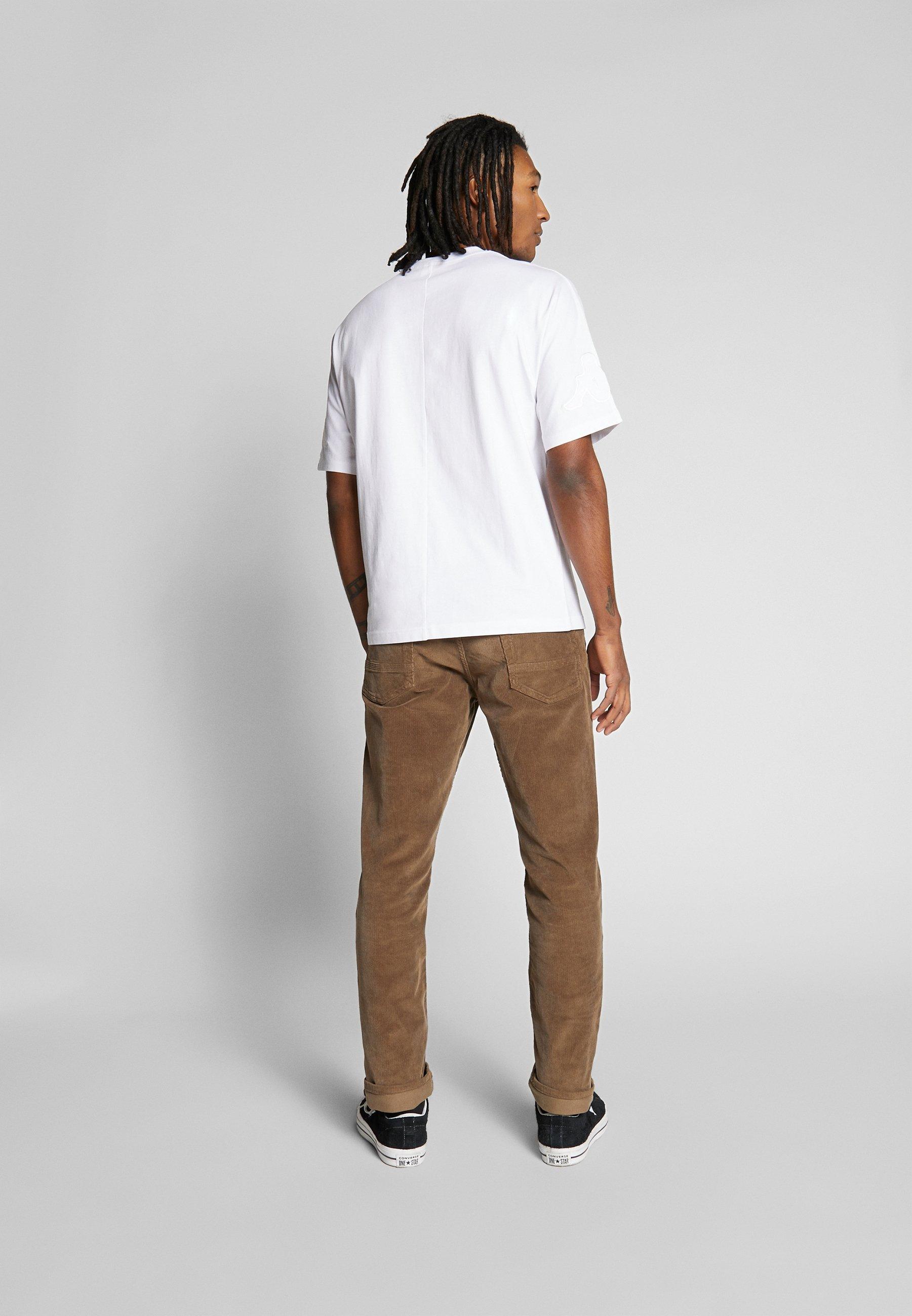 Kappa GERO - T-shirt con stampa - bright white