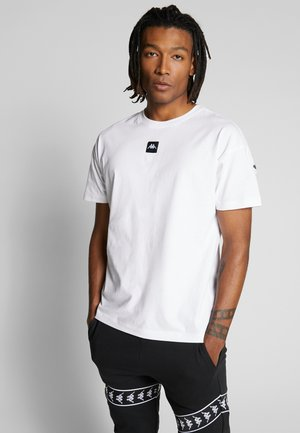 GELLEG - Camiseta estampada - bright white