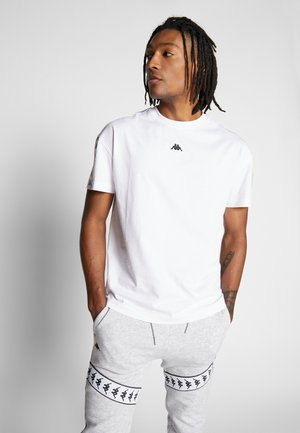 GABRIELLO - Camiseta estampada - bright white