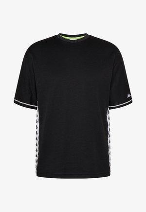 GABRIEL - Print T-shirt - caviar