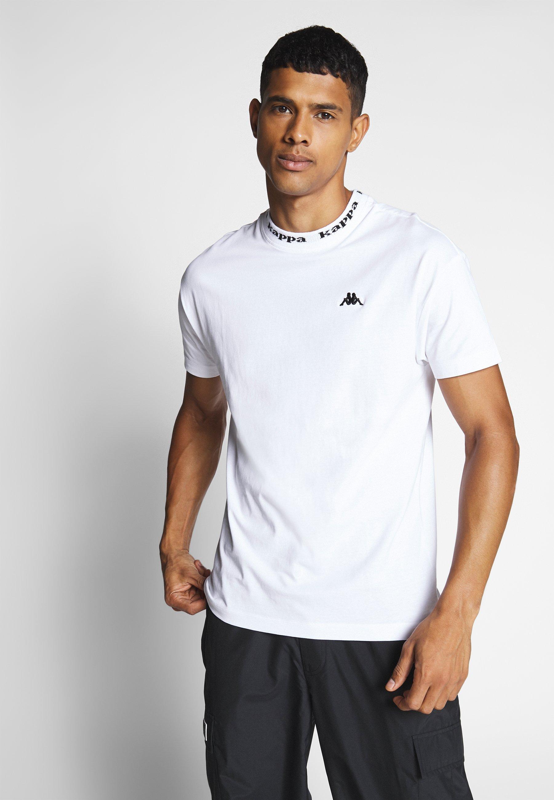 Kappa GAIROS - T-shirt z nadrukiem - bright white