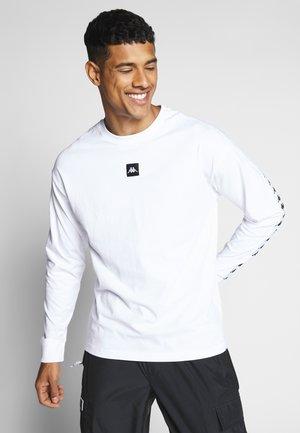 GRENT - Bluzka z długim rękawem - bright white