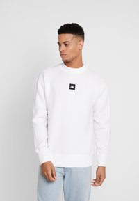 Kappa - AUTHENTIC BARIN - Sweatshirt - white - 0