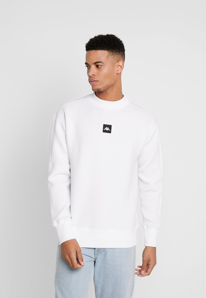Kappa - AUTHENTIC BARIN - Sweatshirt - white