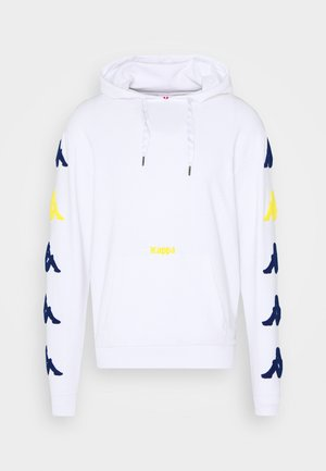 AUTHENTIC SAND CHARICE - Sweat à capuche - white/blue/yellow