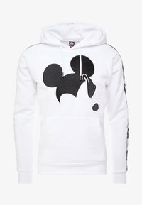 Kappa - KAPPA X DISNEY AUTHENTIC HOODY - Hoodie - white