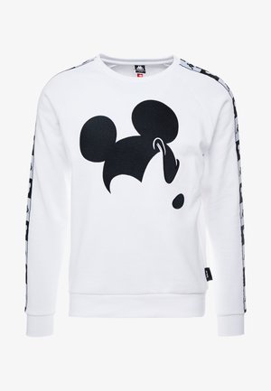 KAPPA X DISNEY AUTHENTIC AUDLEY  CREWNECK - Sweatshirt - white