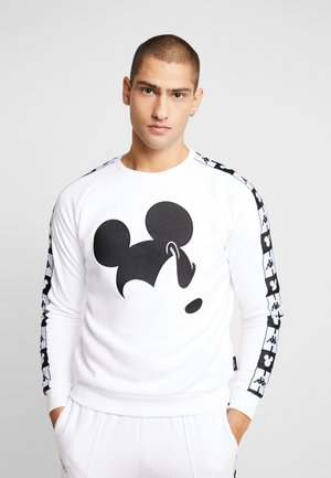 KAPPA X DISNEY AUTHENTIC AUDLEY  CREWNECK - Sweater - white