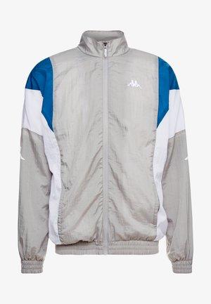FINNEGAN - Training jacket - flint gray