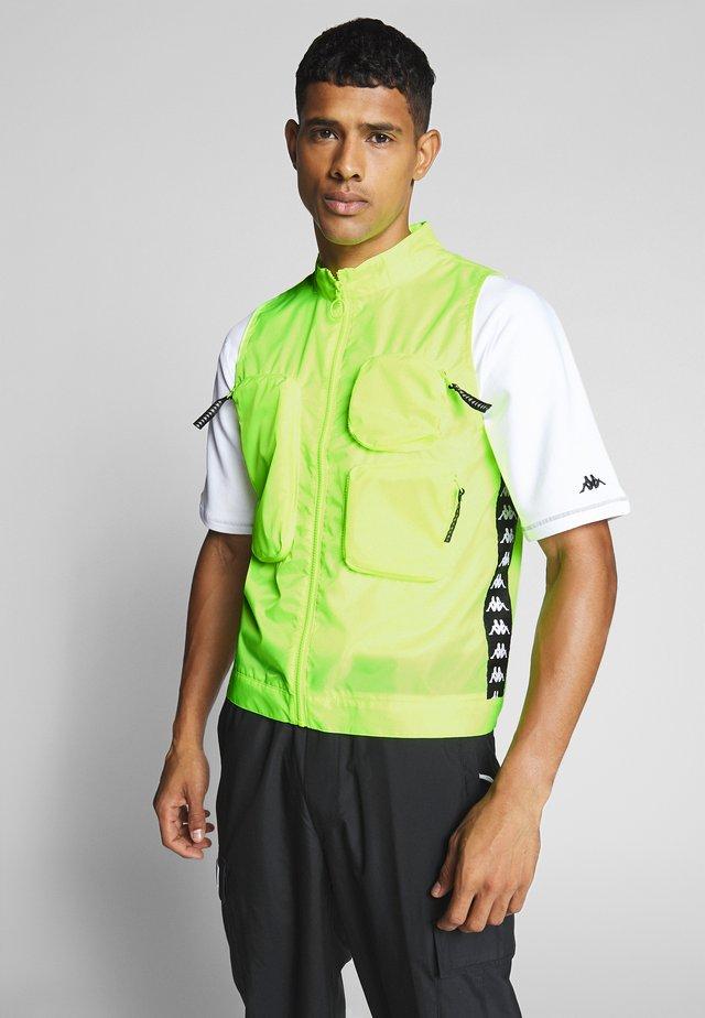 GERALD - Weste - neon yellow