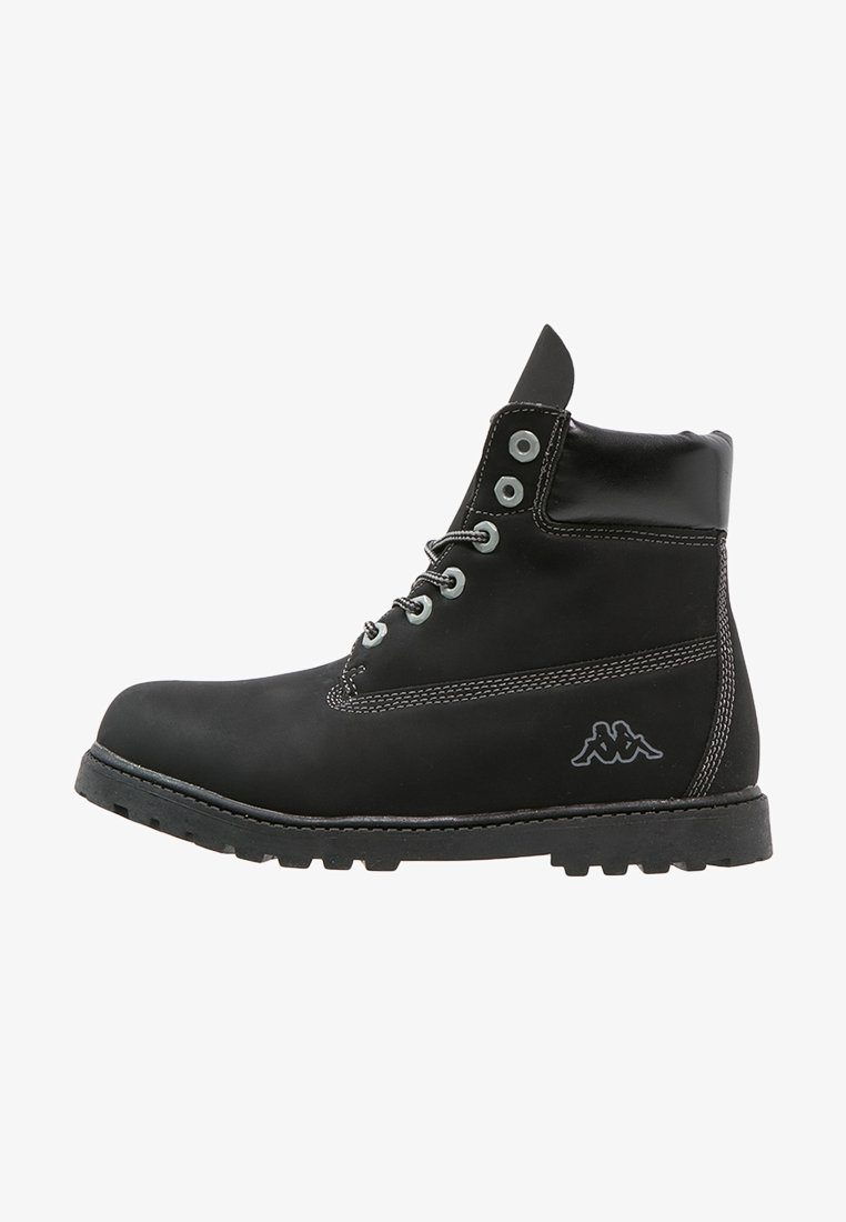 Kappa - KOMBO MID - Hiking shoes - black/grey