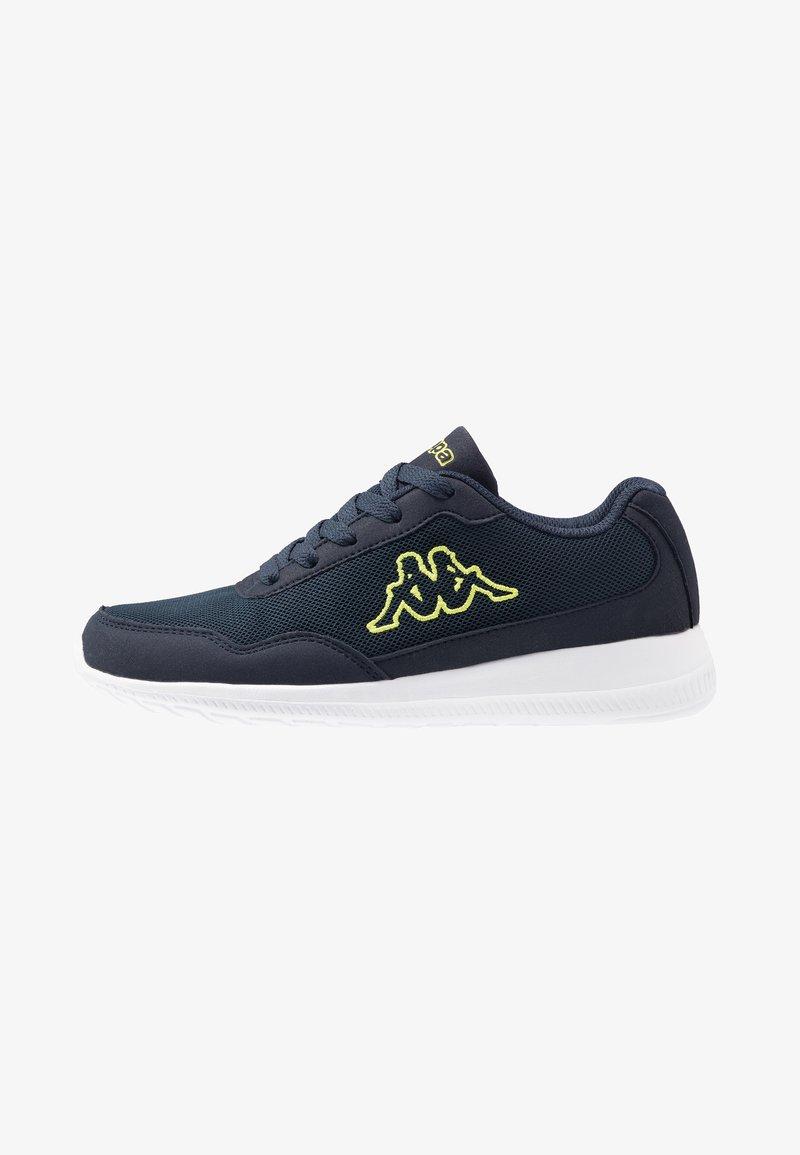Kappa - FOLLOW - Sports shoes - navy/lime