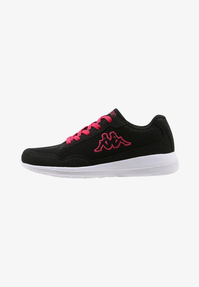 FOLLOW - Træningssko - black/pink