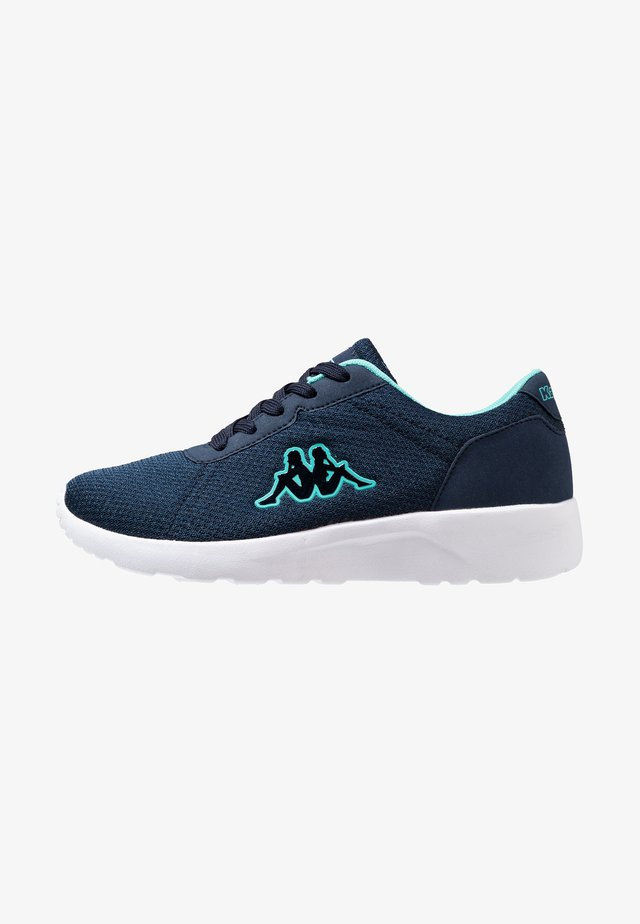 TUNES - Trainings-/Fitnessschuh - navy/mint