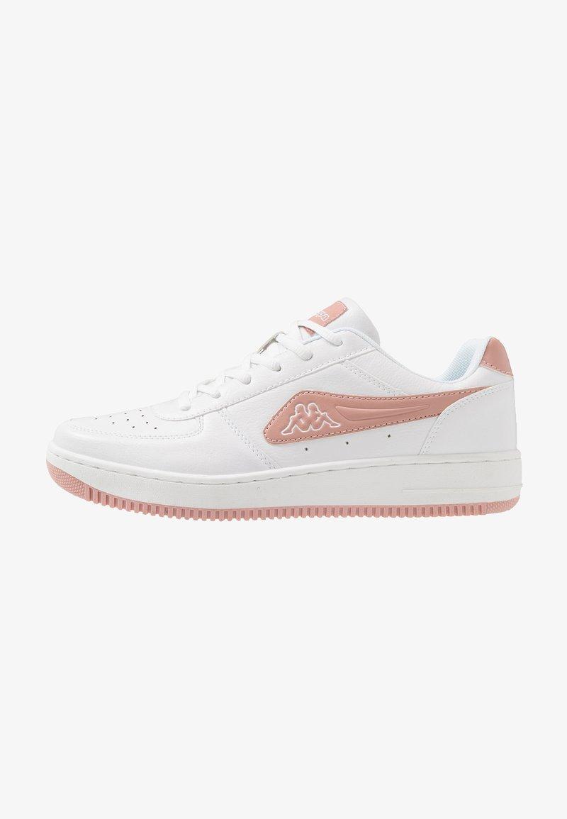 Kappa - BASH - Sports shoes - white/darkrosé