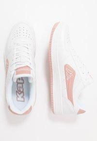 Kappa - BASH - Sports shoes - white/darkrosé - 1