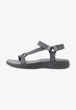 MORTARA - Walking sandals - grey/light grey