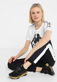 Kappa - ELIN - T-shirt med print - white - 1