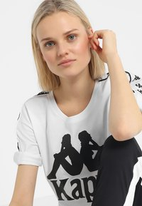 Kappa - ELIN - T-shirt med print - white - 3