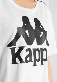 Kappa - ELIN - T-shirt med print - white - 5