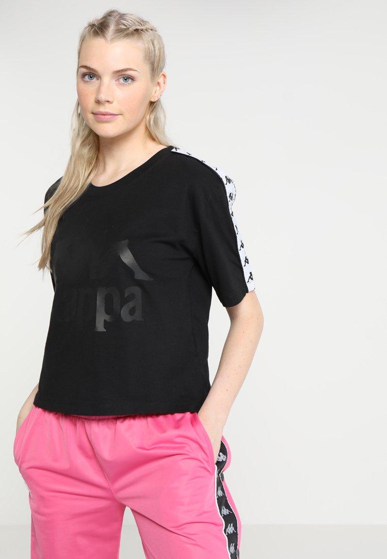 Kappa - ELIN - T-shirt z nadrukiem - black