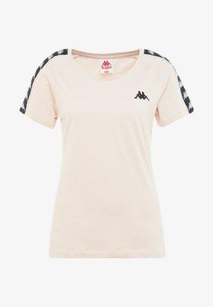 FIMRA - T-shirt z nadrukiem - sepia rose