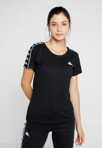 Kappa - FIMRA - T-shirts print - caviar - 0