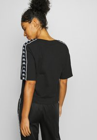 Kappa - GLANDA - Print T-shirt - caviar - 2