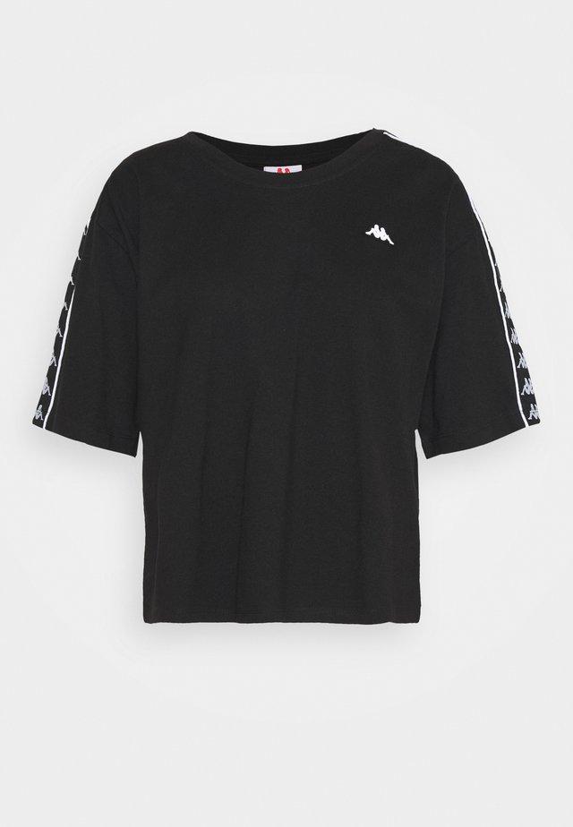 HEDDA - Print T-shirt - caviar