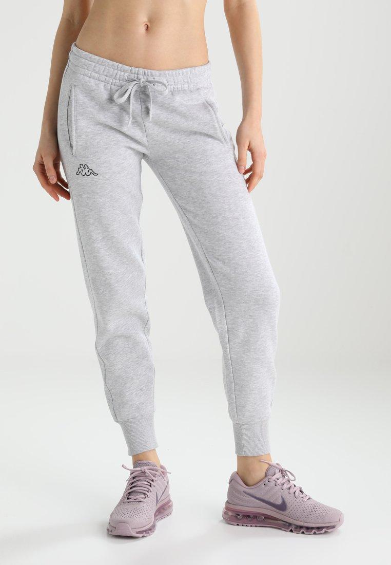 Kappa - TAIMA - Pantalones deportivos - grey melange