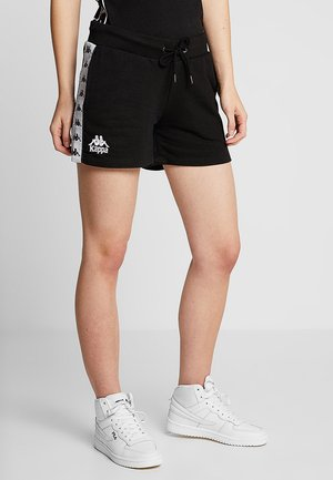 ELISE - Korte broeken - black