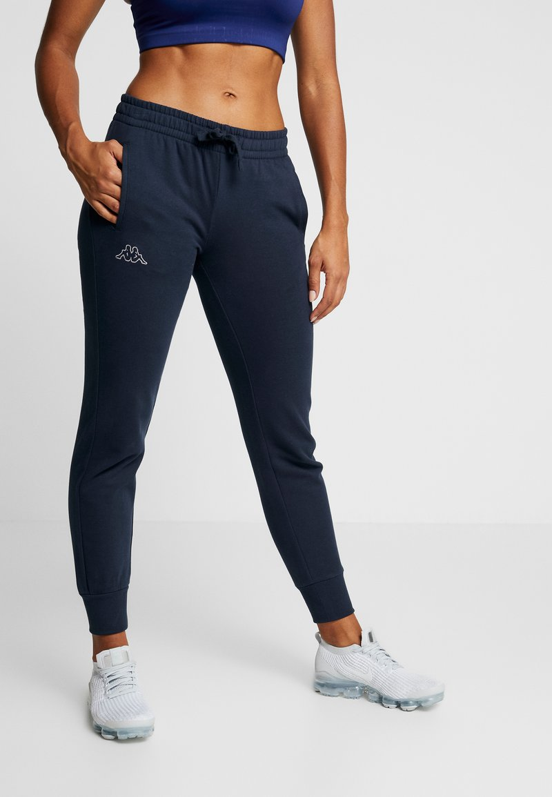 Kappa - TAIMA PANTS WOMEN - Jogginghose - dress blues