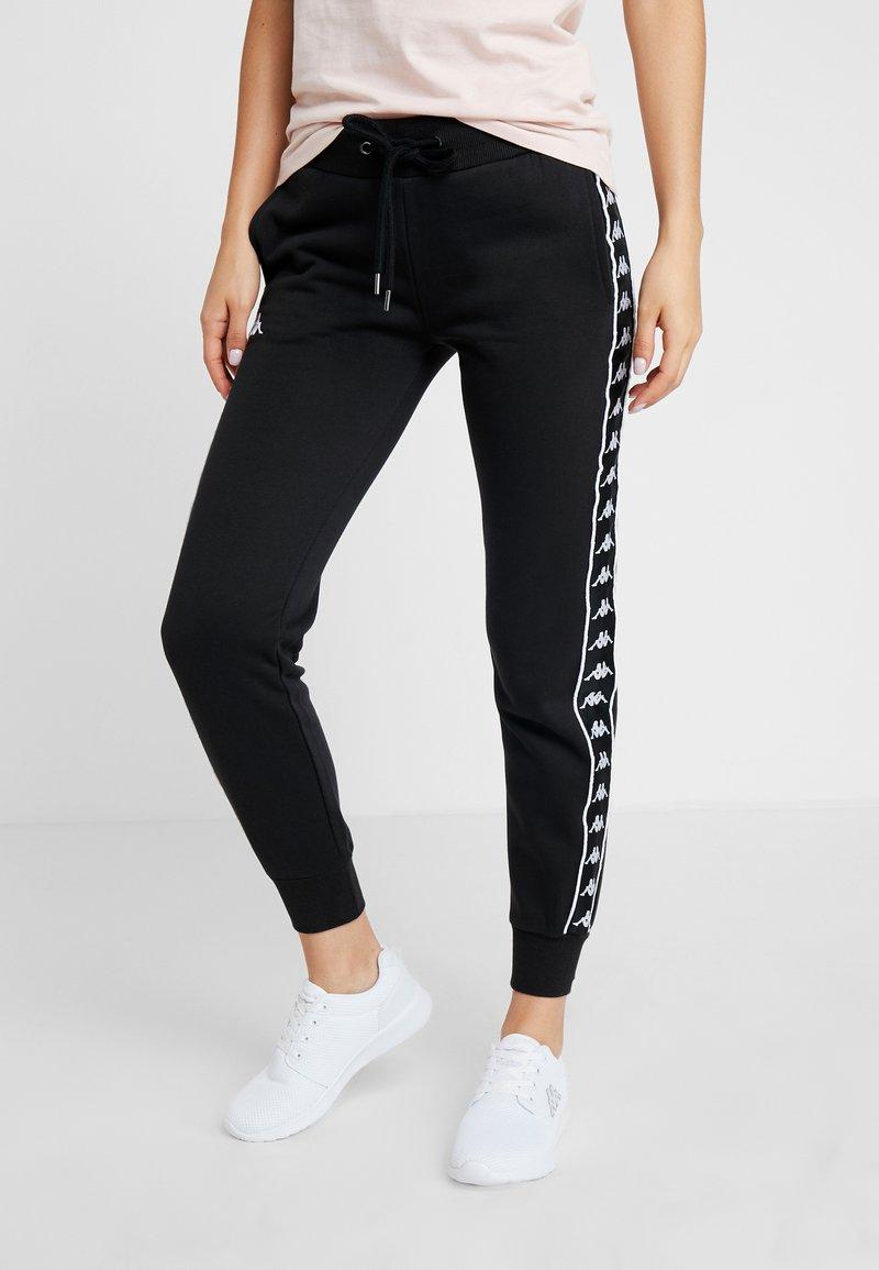 Kappa - FAYOLA - Pantalones deportivos - caviar