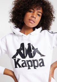 Kappa - E AND A - Luvtröja - white - 4