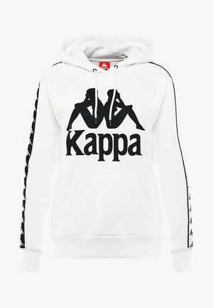E AND A - Kapuzenpullover - white