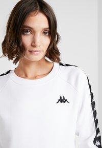 Kappa - FELICIENNE - Sweatshirts - bright white - 3