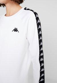 Kappa - FELICIENNE - Sweatshirts - bright white - 5