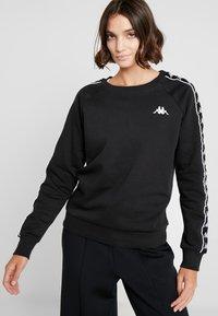 Kappa - FELICIENNE - Sweatshirt - caviar - 0