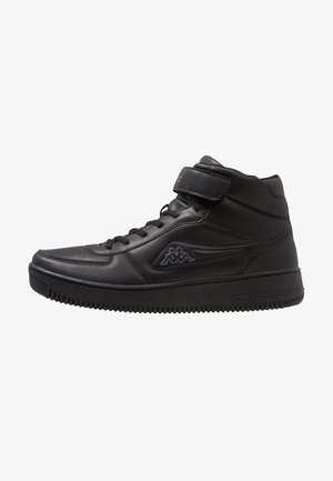 BASH MID - Sports shoes - black/grey