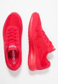 Kappa - FOLLOW - Zapatillas de entrenamiento - red/white - 1