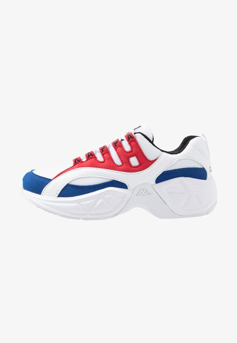 Kappa - OVERTON - Chaussures d'entraînement et de fitness - white/red